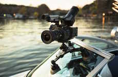 The 'CineSquid' Suction Cup Camera Mount Secures Equipment in Place