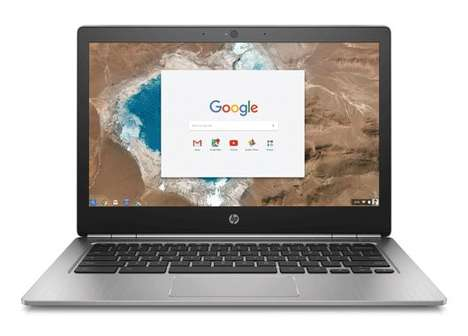 Dynamic Entry-Level Computers - The HP Chromebook 13 Can Support Up to 16GB of RAM and Costs $499