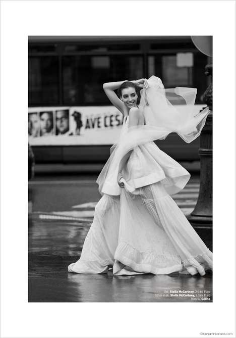 Urban Bride Editorials - This Harper's Bazaar Turkey Feature Stars Dajana Antic