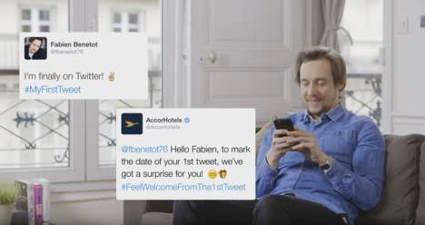 Hospitable Greeting Campaigns - Accor's Hotel Welcome Stunt Made Newcomers to Twitter Feel at Home