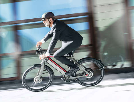 Wireless Shifting Electric Bikes - The Stromer ST2 S is a Fast Electric Bike with a 110-Mile Range