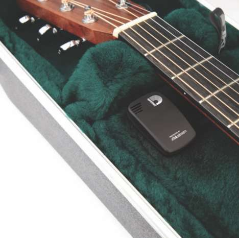 Instrument-Preserving Devices - The D'Addario 'Humiditrak' Can Control Humidity within a Guitar Case