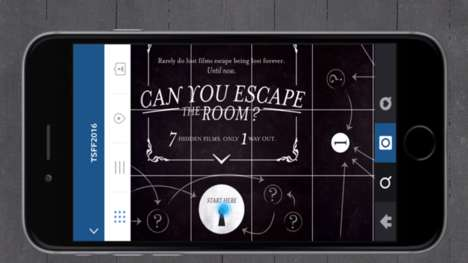 In-App Escape Rooms - The TFSS Instagram Account Hosts an Interactive Escape Room Experience