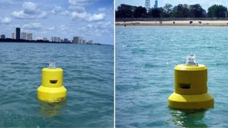 Bacteria-Spotting Buoys - These Beach Buoys Can Monitor Bacteria Content In Real Time