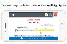 Streamlined Sheet Music Apps