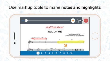 Streamlined Sheet Music Apps - The Musicnotes App Helps You Access, Read and Print Sheet Music