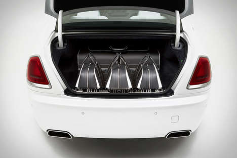 Luxury Vehicle Luggage Collections - The Rolls-Royce Wraith Luggage Perfectly Suits the Car Brand