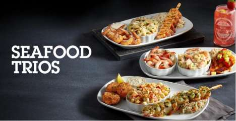 Customizable Seafood Menus - The Create Your Own Seafood Trio Event Allows for Customization