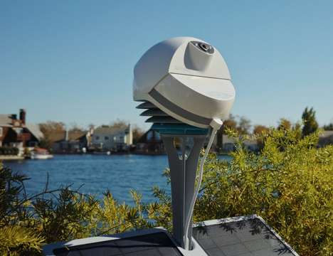 Sky-Recording Weather Devices - The 'BloomSky' Outdoor Weather Station Kit Keeps an Eye on the Sky