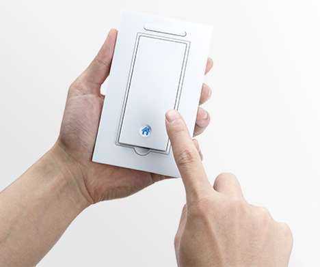 Removable Light Switch Controls - The Gecko 'Switch' Allows Users to Take Light Switches With Them