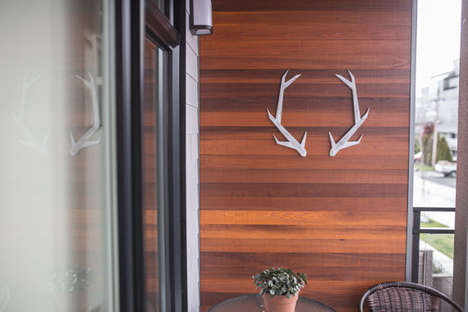Minimalist Antler Decor - Etsy's ParkinHandmade Shop Specializes in Rustic Home Accessories