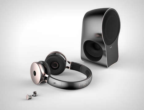 Three-in-One Audio Systems - The Level x3 Packs a Speaker, Over-Ear Headphones and Earbuds