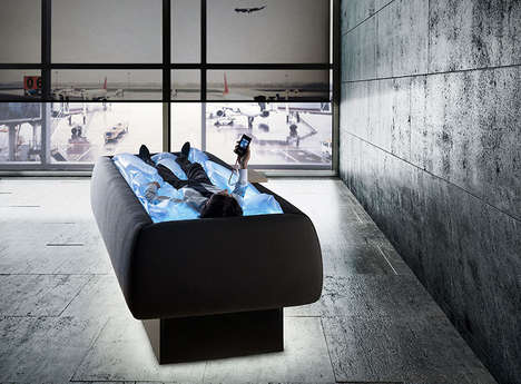 Euphoria-Promoting Beds - This Dry Bed Provides the Sensation of Floating without Getting Wet