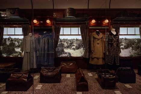 Couture Voyage-Inspired Exhibits - Louis Vuitton Presented the Volez Voguez Voyagez Exhibit in Japan