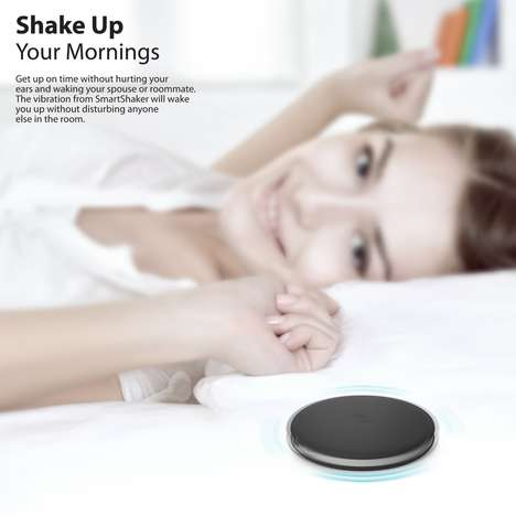Vibrating In-Bed Alarms - The iLuv 'SmartShaker' Bed Alarm Wakes Users with Vibration