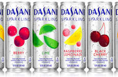 Fruit-Flavored Sparkling Waters