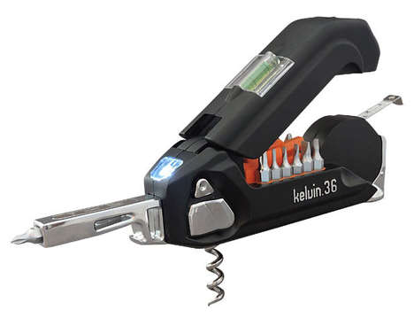 Streamlined Handyman Tools - The Kelvin 36 Urban All-in-One Tool Makes Any User a Handyman