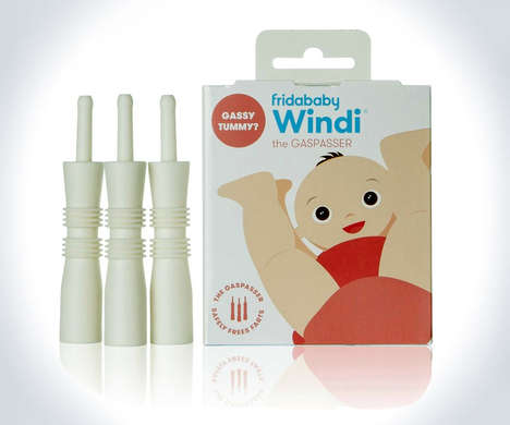 Gas Relief Baby Products - The 'Windi' Provides Colic and Gas Relief for Infants