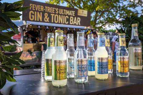 Malaria-Fighting Pop-Up Bars - Fever-Tree's Gin and Tonic Pop-Up Marks World Malaria Day