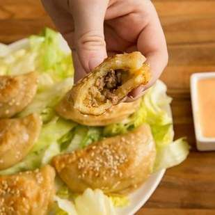 Iconic Cheeseburger Pierogies - This Unconventional Pierogi Recipe is Inspired by McDonald's Bic Mac