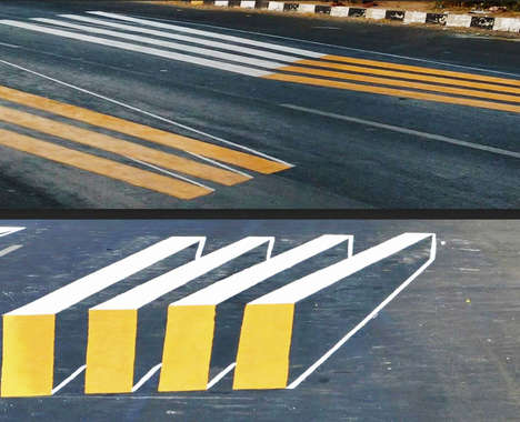 3D Crosswalk Illusions