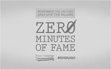 Mass Killer Media Plugins - Zero Minutes of Fame Wants to Prevent Gun Violence By Hiding Names