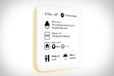 Digital Post-It Notes - The SeeNote ePaper Sticky Note Boasts a Touchscreen and Wifi Connection