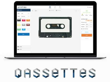 Cassette Crowdfunding Platforms - Japanese Startup QASSETTES Helps You Finance Your Cassette Tapes
