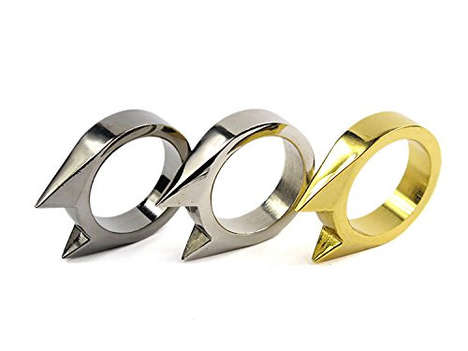Combat Cat Rings - These Cat Rings are a Cute Self-Defense Tool and Fashion Accessory