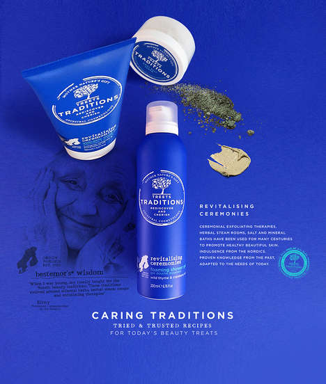 History-Embracing Skincare Lines - Treets Traditions Focuses on Age-Old Formulas and Beliefs