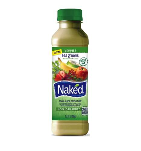 Sea Vegetable Juices - The Newest Naked Juice Smoothie is Powered by Dulse and Spirulina