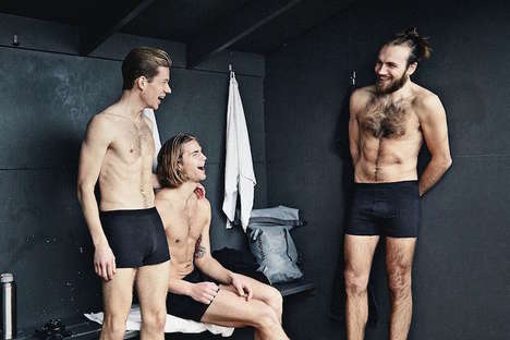 Silver-Woven Undergarments - Organic Basics Mens Undergarments are Sweat-Free and Kill Bacteria