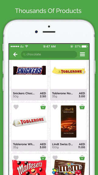 App-Only Supermarkets - El Grocer's Mobile Grocery Service Helps Shoppers Order from Nearby Stores