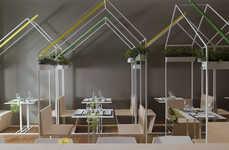 Modular Sushi Fusion Eateries - CasaMaki Sushi Merges Japanese Cuisine With Italian Design
