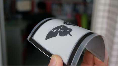 Flexible E-Paper Displays - Guangzhou OED Technologies Offers Foldable Graphene-Based Tech Displays