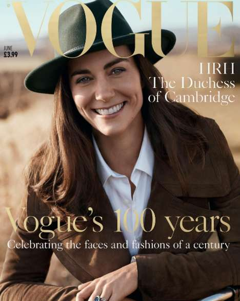 Country Chic Princesses - The Vogue Kate Middleton Cover Shoot is All About Natural Beauty