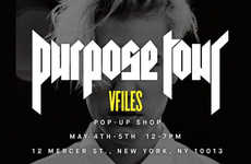 Singer-Curated Pop-Ups - Justin Bieber is Launching a Purpose Tour Pop-Up Shop in New York City