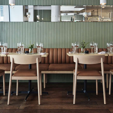 Corrugated Rustic Eateries - The OX Restaurant in Helsinki Opts for a Design that Reflects the Menu
