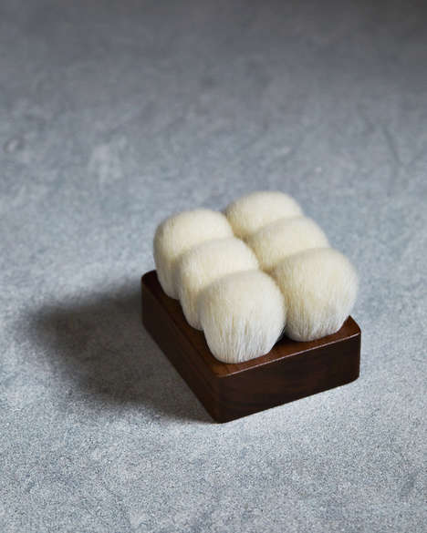 Bristled Bath Brushes - The Suvé Brushes Opt for Goat Hair to Buff Away Dead Skin and Impurities