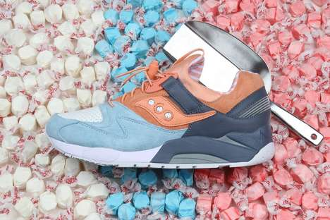 Candied Sneaker Collections - The Premier x Saucony Shoe Line is Inspired by Salt-Water Taffy