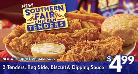 State Fair-Inspired Dishes - The New Southern Fair Tenders Capture the Flavors of the State Fair