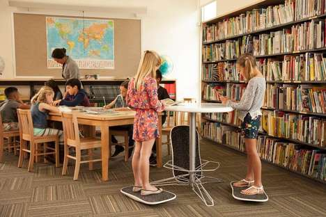 Classroom-Friendly Standing Desks - The UpGrade System is Designed to Help Kids Stay Active