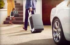 The Rolls-Royce Luxe Suitcases are Manufactured With Carbon Fibre
