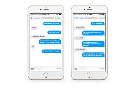 Prank Sitcom Dialogue Platforms - The SeinText App Sends Friends Lines from Seinfeld Anonymously