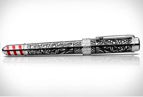 Art Collector Pens - The Montblanc Peggy Guggenheim Pen is Part of Its Patron of Art Edition