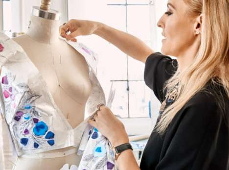 Supercomputer-Controlled Dresses - IBM Watson and Marchesa Create a Cognitive Gown for the Met Gala