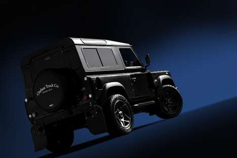 Customized Limited-Edition Vehicles - The Khan Ultimate Defender Land Rover is Rugged and Rare