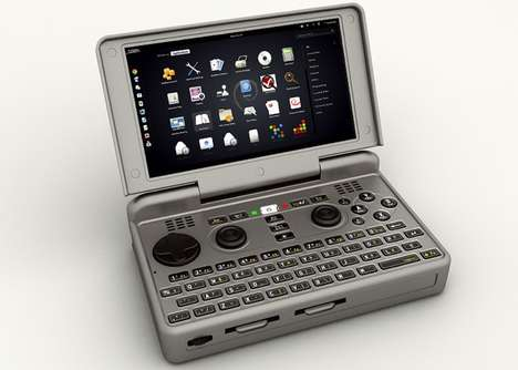 Pocket-Sized Gaming PCs - The DragonBox 'Pyra' Open Source Games Console is Small Yet Mighty