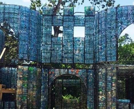 Plastic Bottle Villages
