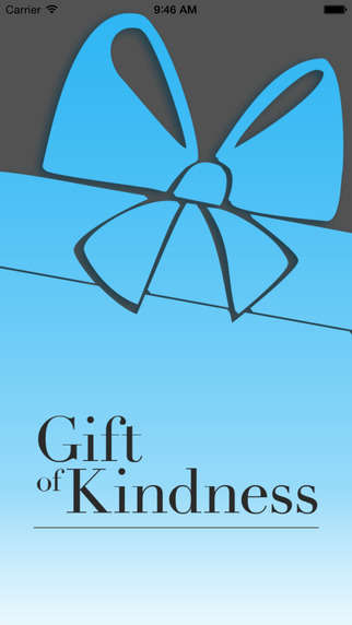 Charitable Gift-Giving Apps - The 'Gift of Kindness' App Lets Users Donate on Behalf of Others